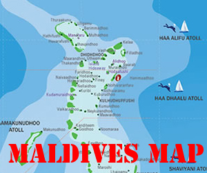 Maldives Island Maps List